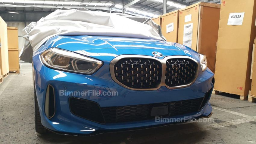 F40 BMW 1 Series leaked – M135i xDrive variant seen Image #947623