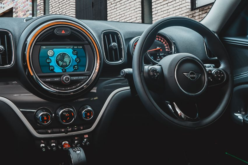 F60 MINI Cooper S Countryman Pure launched – from RM229k; PHEV model gets RM18k Wired Package Image #947707