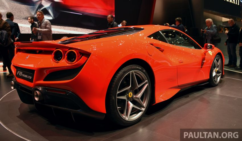 Ferrari F8 Tributo debuts in Malaysia – fr. RM1.068 mil Image #950725