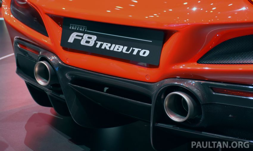 Ferrari F8 Tributo debuts in Malaysia – fr. RM1.068 mil Image #950732