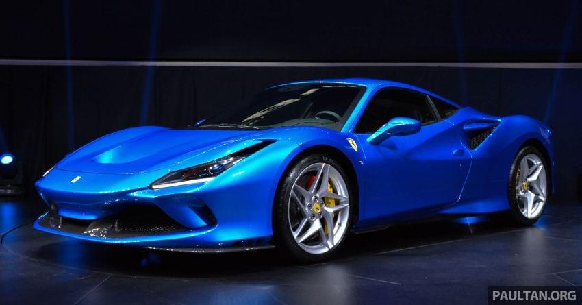 Ferrari F8 Tributo debuts in Malaysia – fr. RM1.068 mil Image #950812