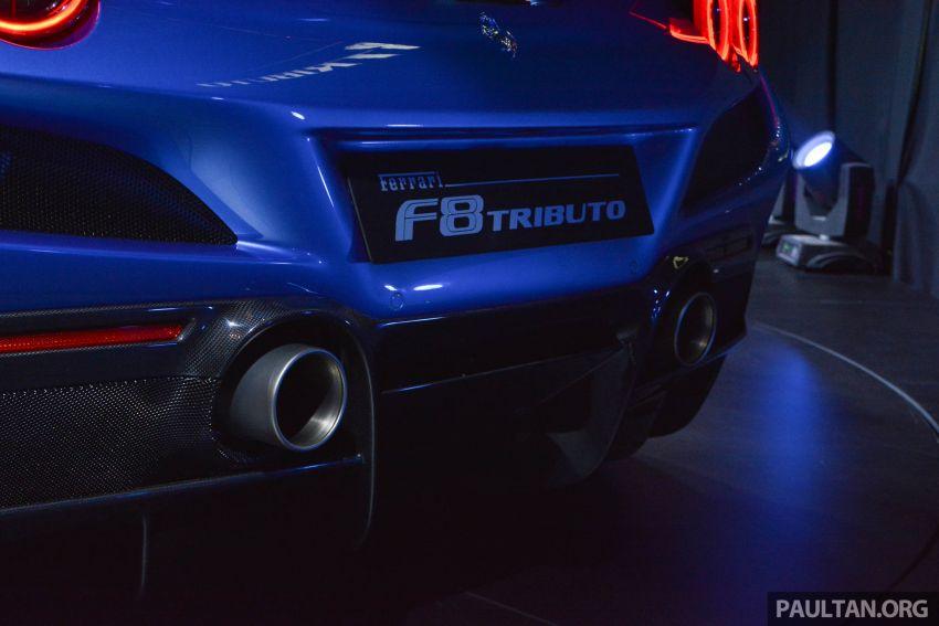 Ferrari F8 Tributo debuts in Malaysia – fr. RM1.068 mil Image #950824