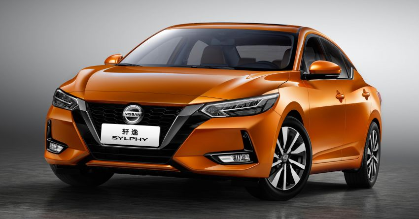 All-new Nissan Sylphy unveiled at 2019 Auto Shanghai Image #948329