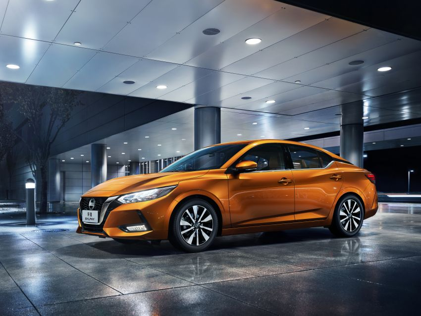 All-new Nissan Sylphy unveiled at 2019 Auto Shanghai Image #948332