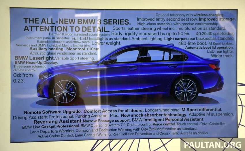 DRIVEN: G20 BMW 3 Series – upping the ante, again Image #943183