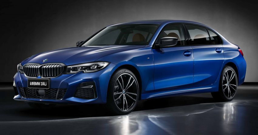 G20 BMW 3 Series long wheelbase unveiled in China Image #948944