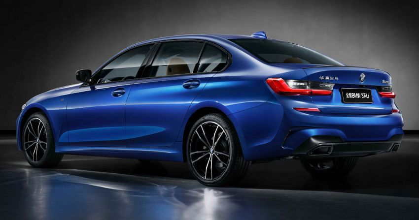 G20 BMW 3 Series long wheelbase unveiled in China Image #948945
