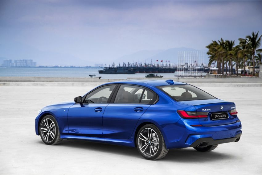 G20 BMW 3 Series long wheelbase unveiled in China Image #948948