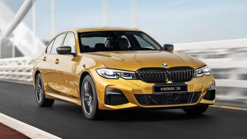 G28 BMW 3 Series Li – stretched model to debut soon Image #942173