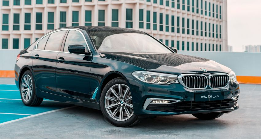 BMW Malaysia introduces G30 BMW 520i Luxury and 530e M Sport variants – RM329k and RM339k Image #953269