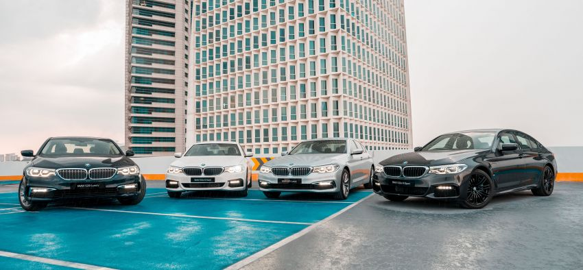 BMW Malaysia introduces G30 BMW 520i Luxury and 530e M Sport variants – RM329k and RM339k Image #953308