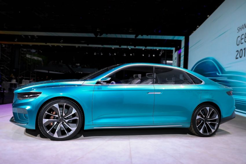 Geely Preface sedan concept debuts at Auto Shanghai Image #948536