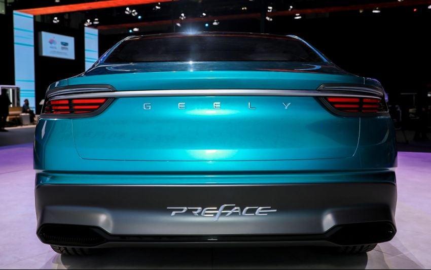 Geely Preface sedan concept debuts at Auto Shanghai Image #948545