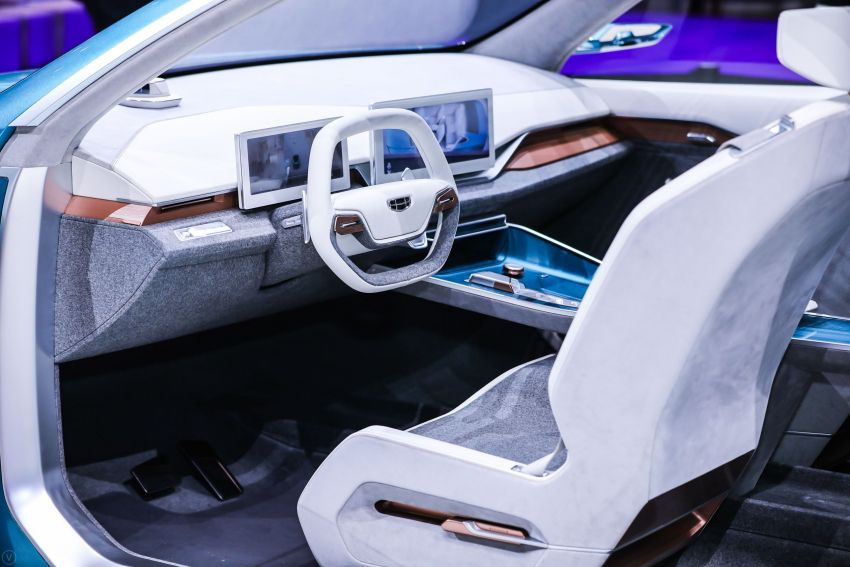 Geely Preface sedan concept debuts at Auto Shanghai Image #948547