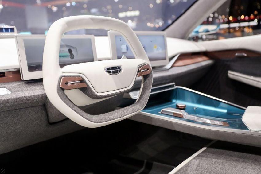 Geely Preface sedan concept debuts at Auto Shanghai Image #948550