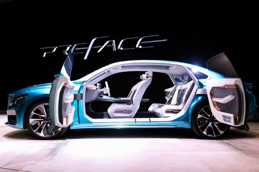 Geely Preface sedan concept debuts at Auto Shanghai Image #948537