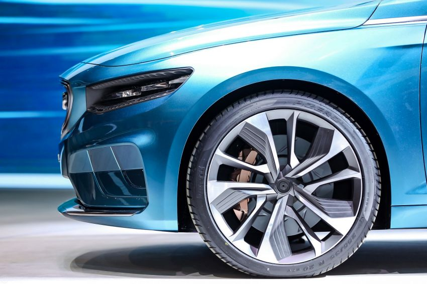 Geely Preface sedan concept debuts at Auto Shanghai Image #948538