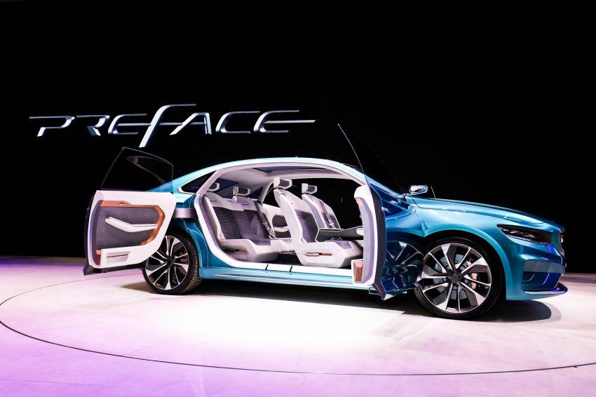 Geely Preface sedan concept debuts at Auto Shanghai Image #948539