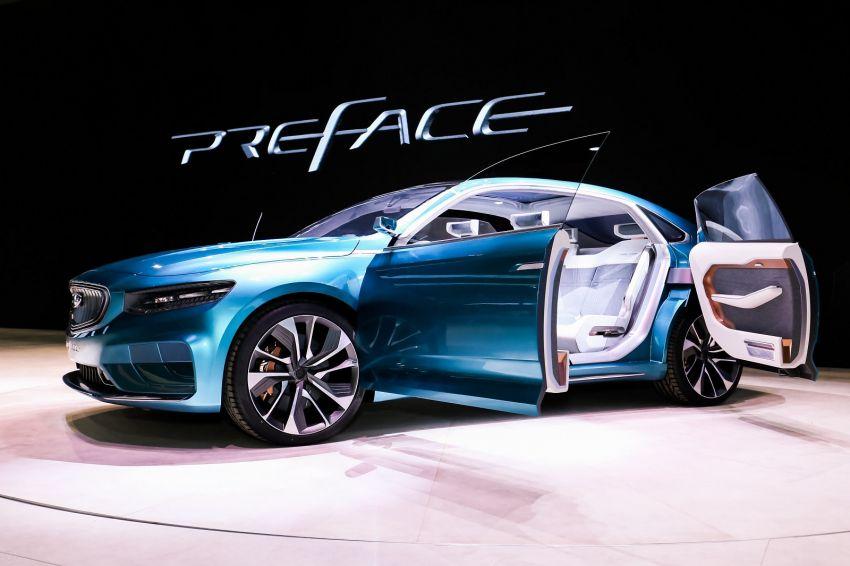 Geely Preface sedan concept debuts at Auto Shanghai Image #948540
