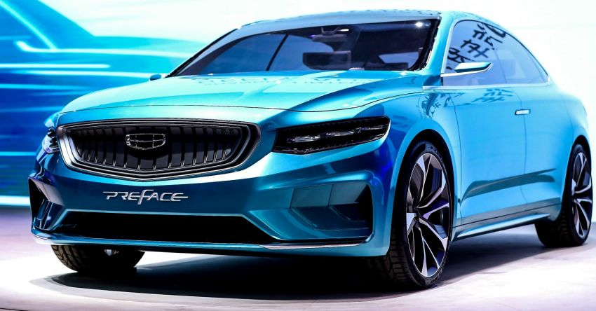 Geely Preface sedan concept debuts at Auto Shanghai Image #948541