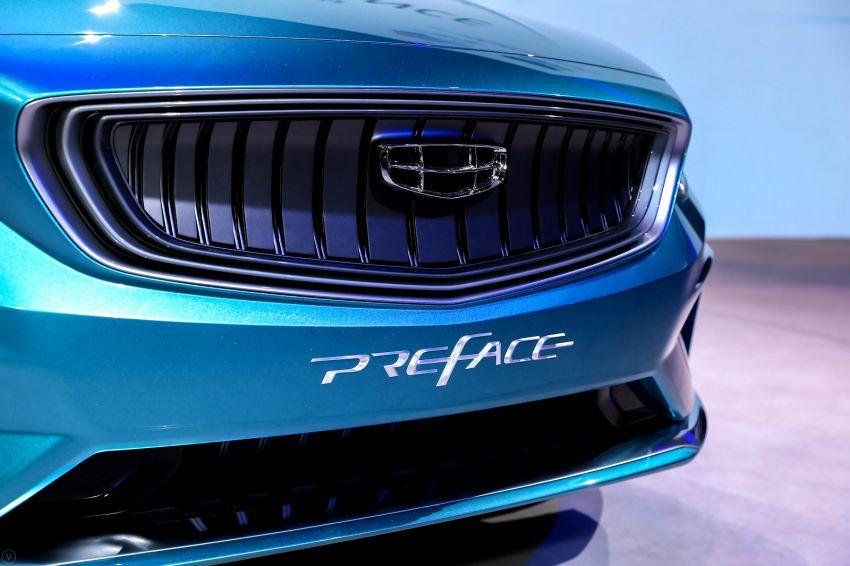 Geely Preface sedan concept debuts at Auto Shanghai Image #948543