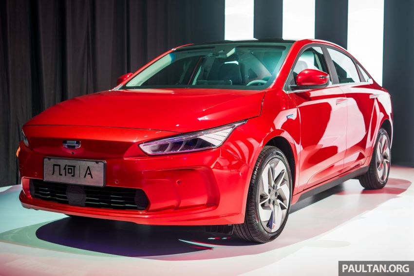 Geometry A unveiled –  GE11 first model in Geely's new EV brand, up to 500 km range, from RM92k w/ subsidy Image #946485