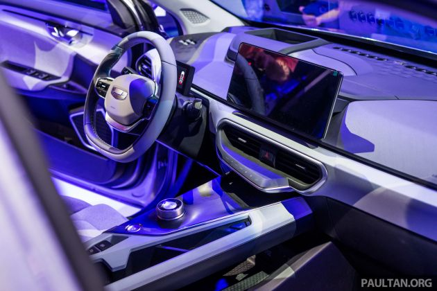 Geometry A Unveiled Ge11 First Model In Geely S New Ev Brand Up