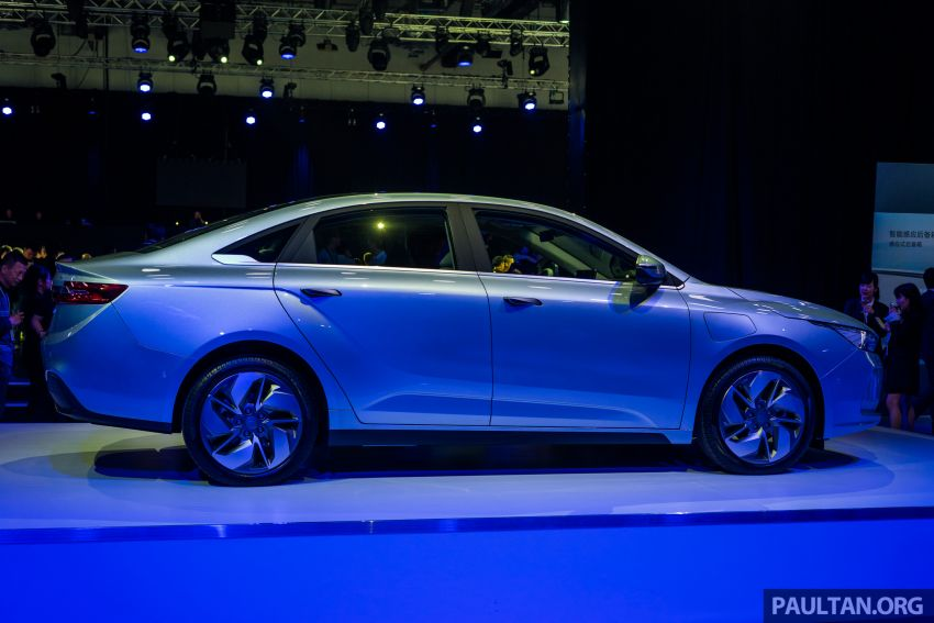 Geometry A unveiled –  GE11 first model in Geely's new EV brand, up to 500 km range, from RM92k w/ subsidy Image #946497