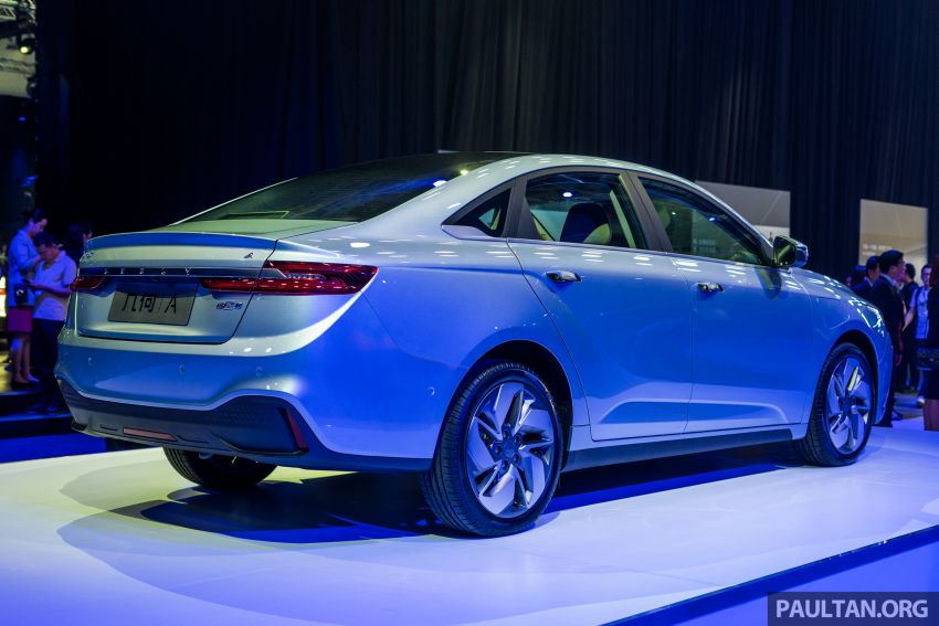 Geometry A unveiled –  GE11 first model in Geely's new EV brand, up to 500 km range, from RM92k w/ subsidy Image #946498
