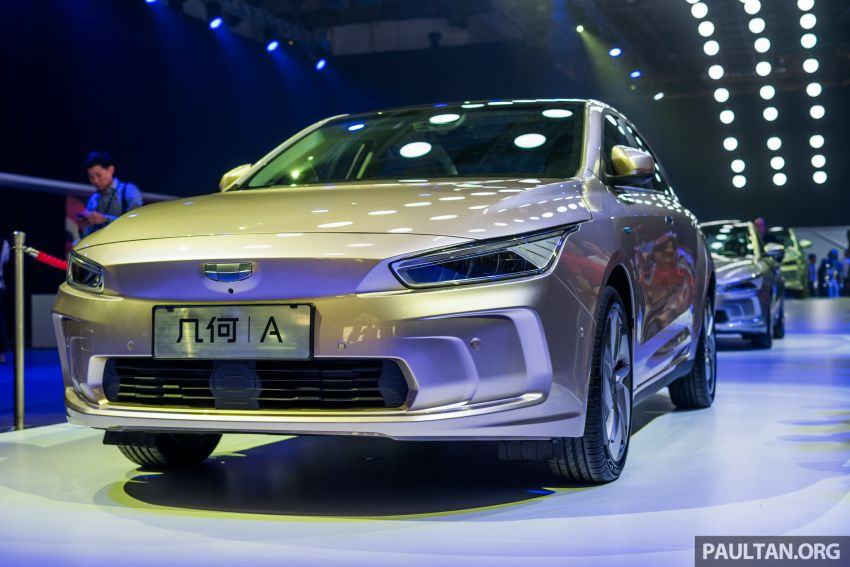 Geometry A unveiled –  GE11 first model in Geely's new EV brand, up to 500 km range, from RM92k w/ subsidy Image #946487