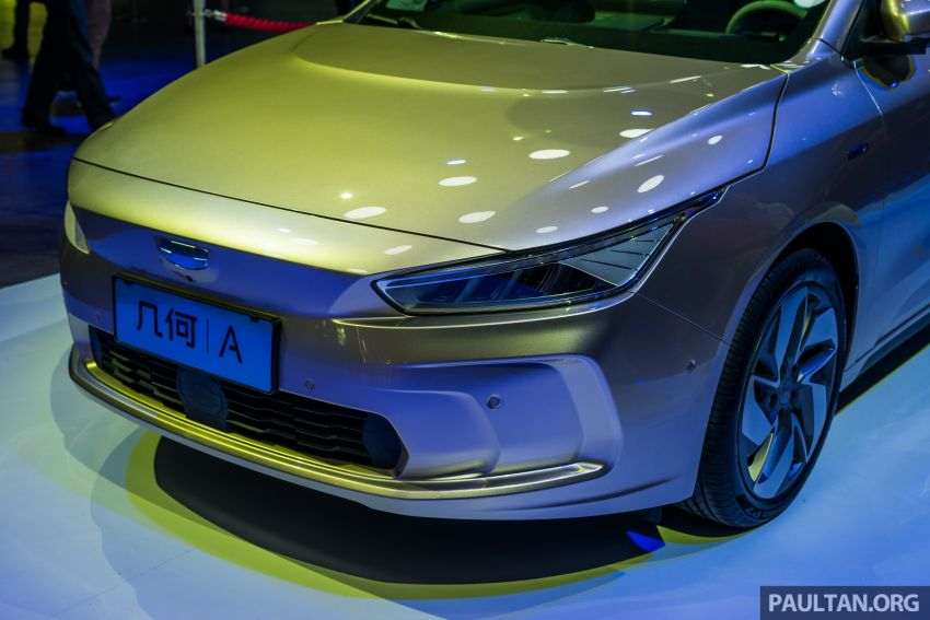 Geometry A unveiled –  GE11 first model in Geely's new EV brand, up to 500 km range, from RM92k w/ subsidy Image #946488