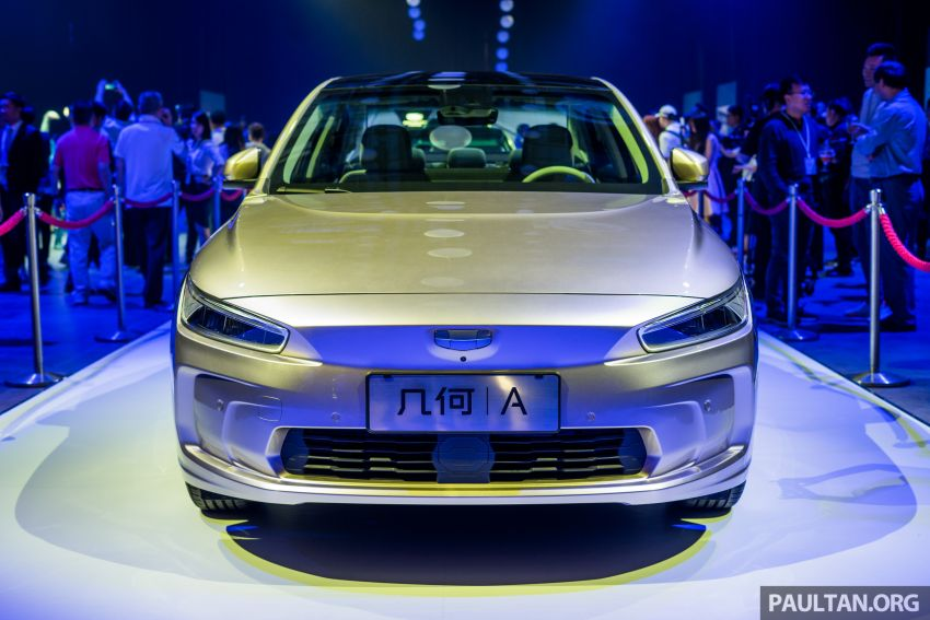 Geometry A unveiled –  GE11 first model in Geely's new EV brand, up to 500 km range, from RM92k w/ subsidy Image #946489