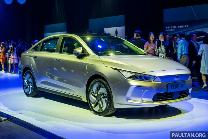 Geometry A unveiled –  GE11 first model in Geely's new EV brand, up to 500 km range, from RM92k w/ subsidy Image #946490