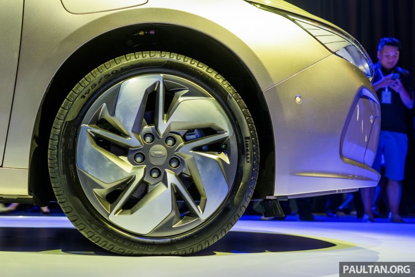 Geometry A unveiled –  GE11 first model in Geely's new EV brand, up to 500 km range, from RM92k w/ subsidy Image #946491