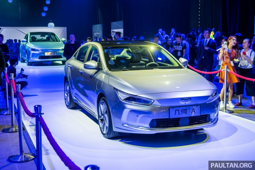 Geometry A unveiled –  GE11 first model in Geely's new EV brand, up to 500 km range, from RM92k w/ subsidy Image #946493