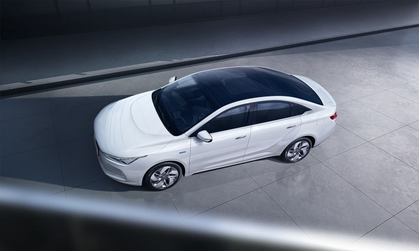 Geometry A unveiled –  GE11 first model in Geely's new EV brand, up to 500 km range, from RM92k w/ subsidy Image #948919