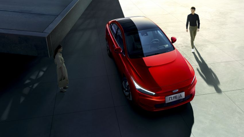 Geometry A unveiled –  GE11 first model in Geely's new EV brand, up to 500 km range, from RM92k w/ subsidy Image #948920