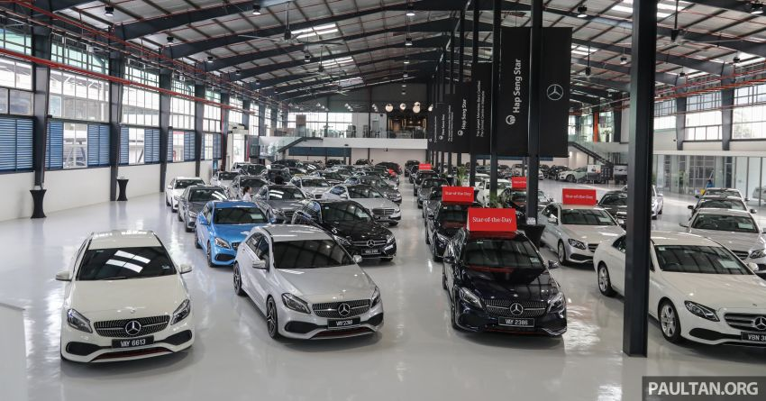 Mercedes-Benz Certified Pre-Owned Centre by HSS Kinrara – more affordable, but as good as day one? Image #953865