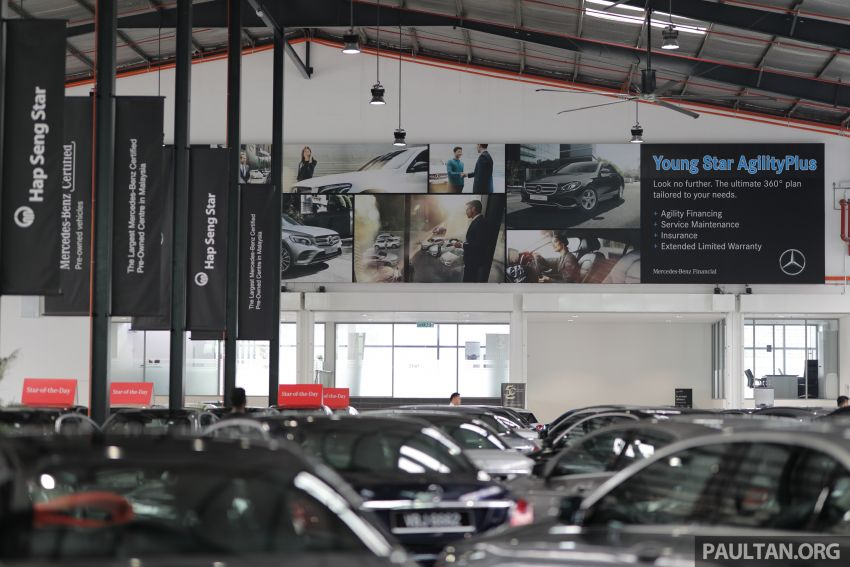 Mercedes-Benz Certified Pre-Owned Centre by HSS Kinrara – more affordable, but as good as day one? Image #953888