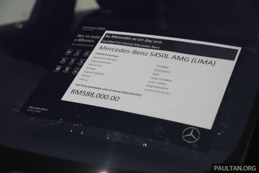 Mercedes-Benz Certified Pre-Owned Centre by HSS Kinrara – more affordable, but as good as day one? Image #953867
