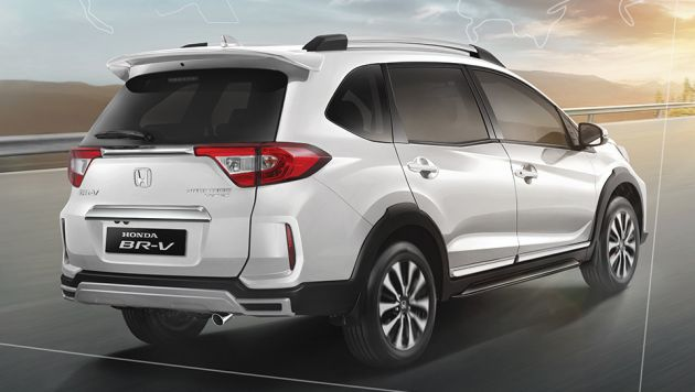 2019 Honda Br V Facelift Launched In Indonesia