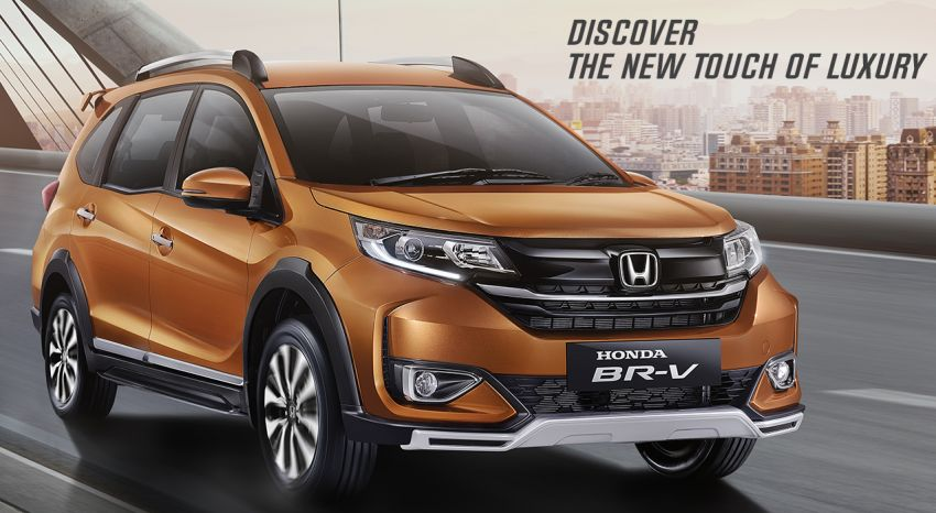 2019 Honda BR-V facelift launched in Indonesia Image #953529