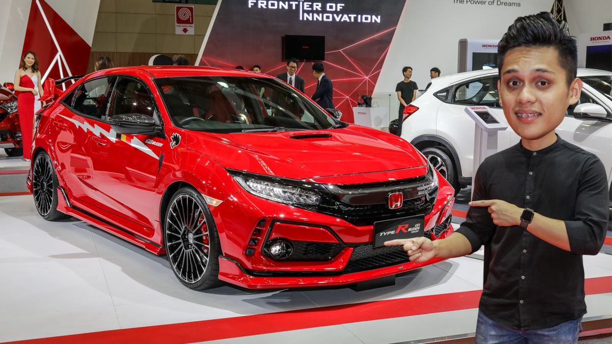 Honda Civic Type R Mugen Concept Cover X on Honda Civic Bumper Cover