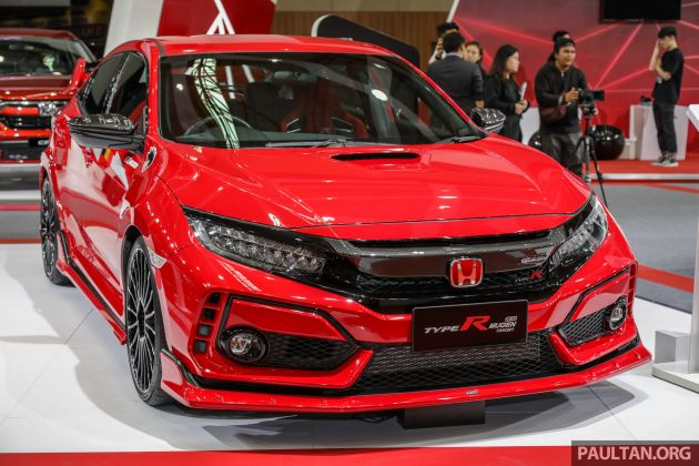 Fk8 Honda Civic Type R Mugen Concept On Show In Malaysia First
