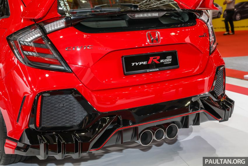 FK8 Honda Civic Type R Mugen Concept on show in Malaysia – first appearance in Southeast Asia Image #945464