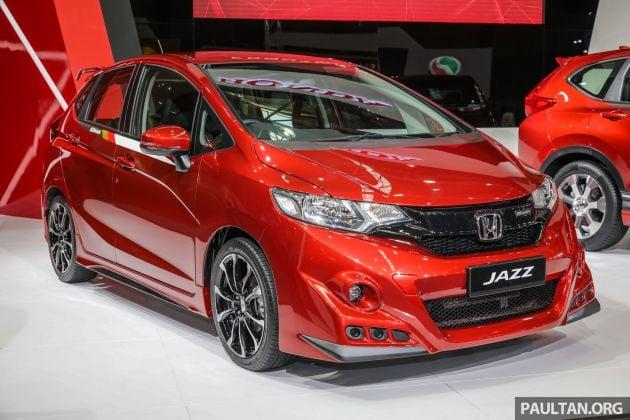 Honda Jazz Mugen at the Malaysia Autoshow 2019