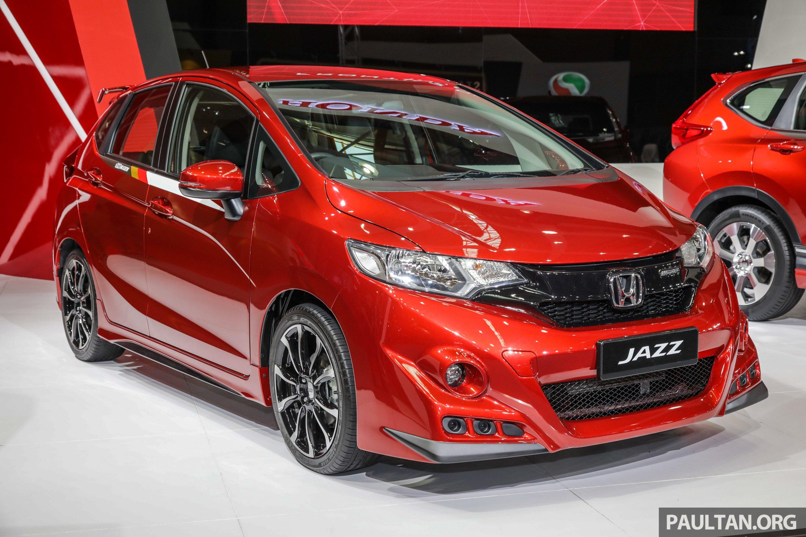 Honda Jazz Mugen at the Malaysia Autoshow 2019 Paul Tan ...