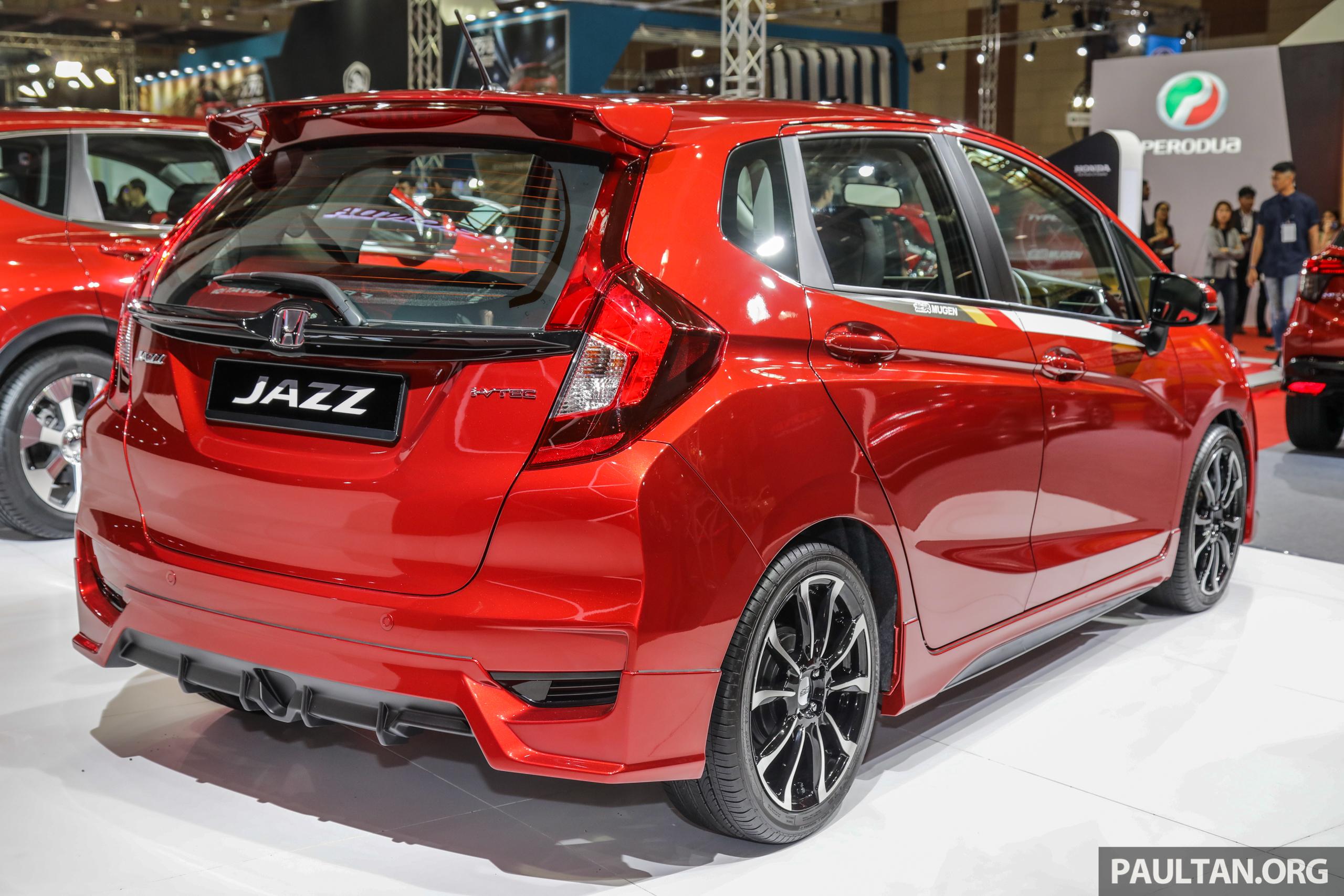 honda jazz mugen at the malaysia autoshow 2019 honda jazz
