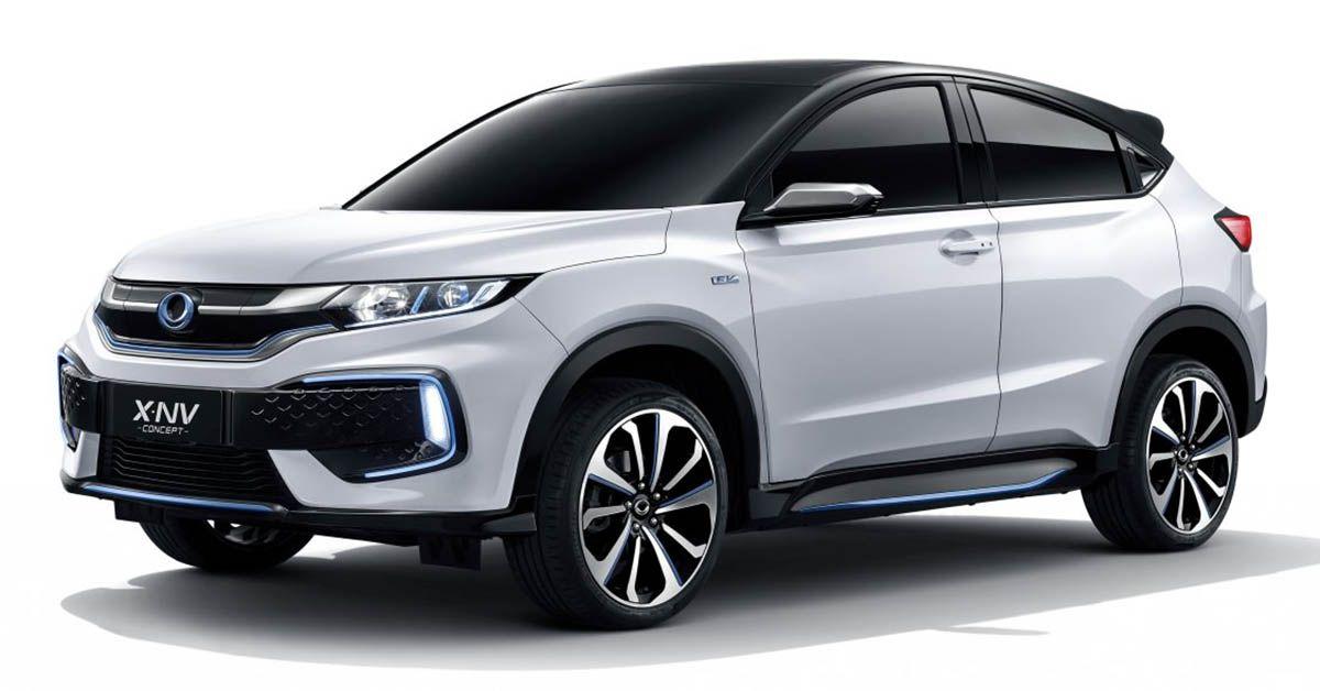 Honda X Nv Concept Debuts In Shanghai Ev Hr V