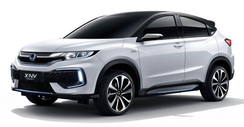 Honda X-NV Concept debuts in Shanghai – EV HR-V Image #948286